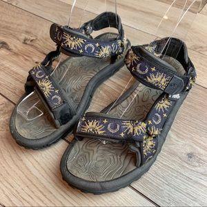 Teva | Sun & Moon Adjustable Sandals | Size 7